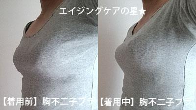 老け胸・垂れ胸・削げ胸が「胸不二子ブラ(ブラジャー)」で、「峰不二子の胸」になれるかな?