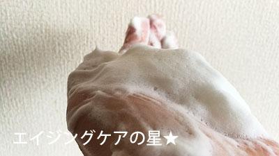 ラグジュアリーホワイトウォッシングフォームN(洗顔料)のレビュー